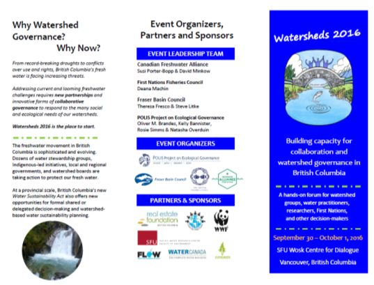 Watersheds-Brochure